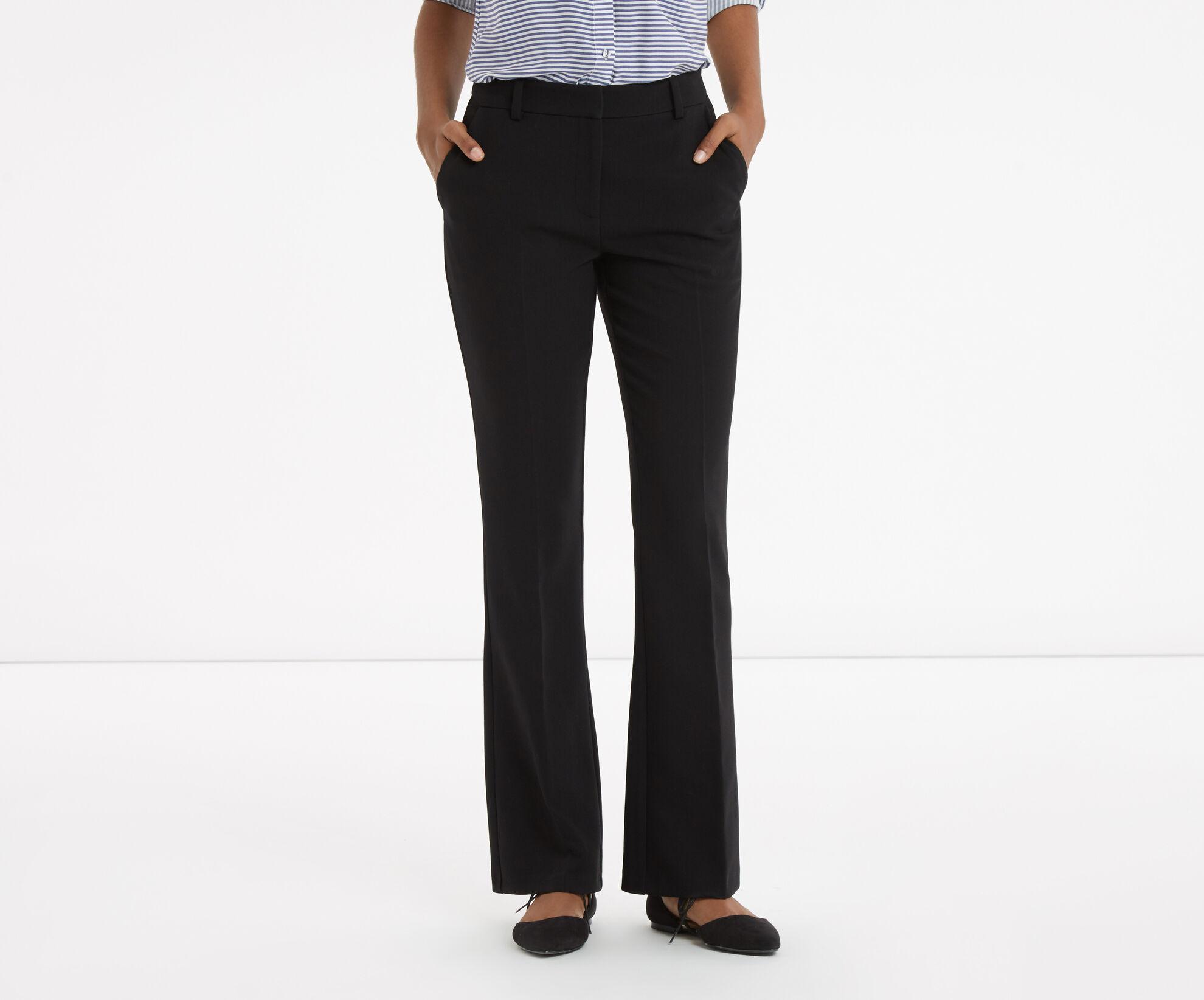 Oasis, Sian Wide Leg Trouser Black 1