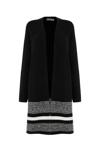Oasis, Luxe Stripe Coatigan Multi 0