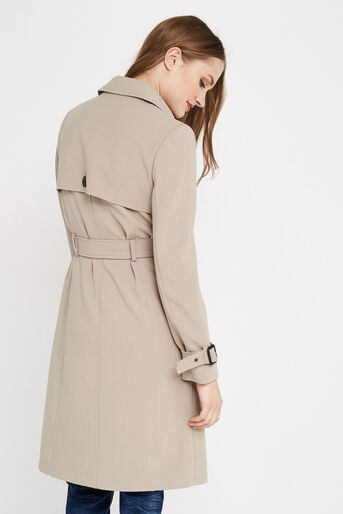 Oasis, BELTED TRENCH COAT Light Neutral 3