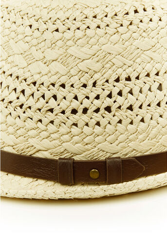 Oasis, Belted Trilby Mid Neutral 1