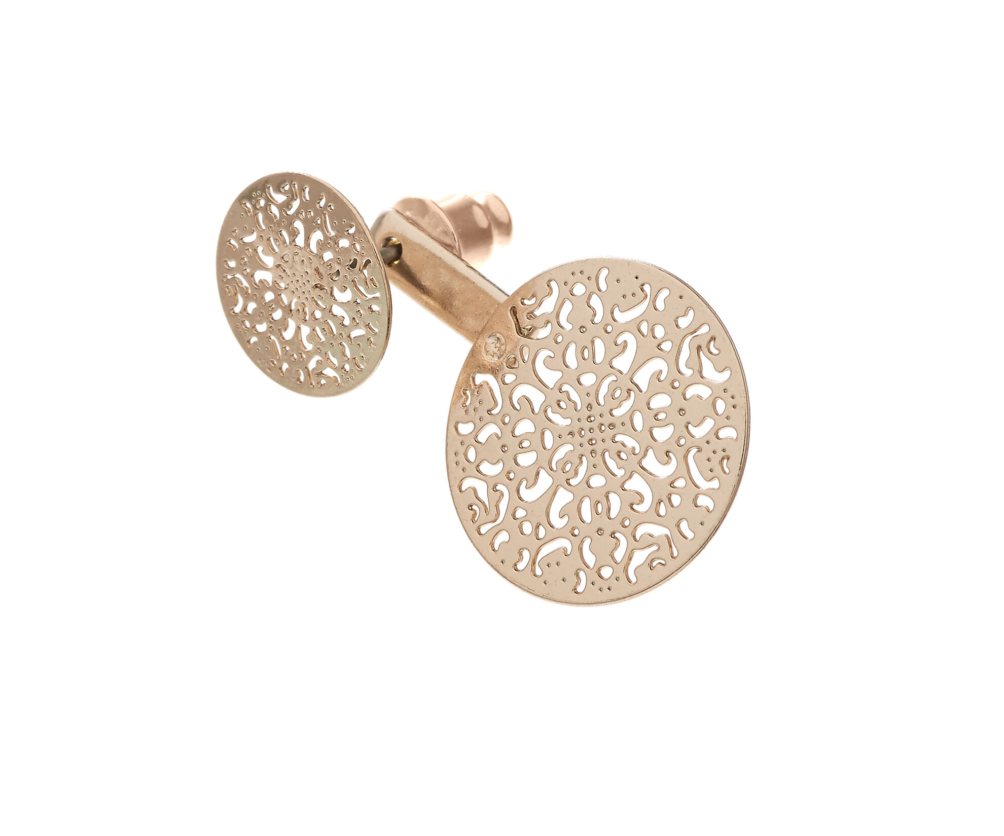 Oasis, FILIGREE UNDER-EAR EARING Gold 1