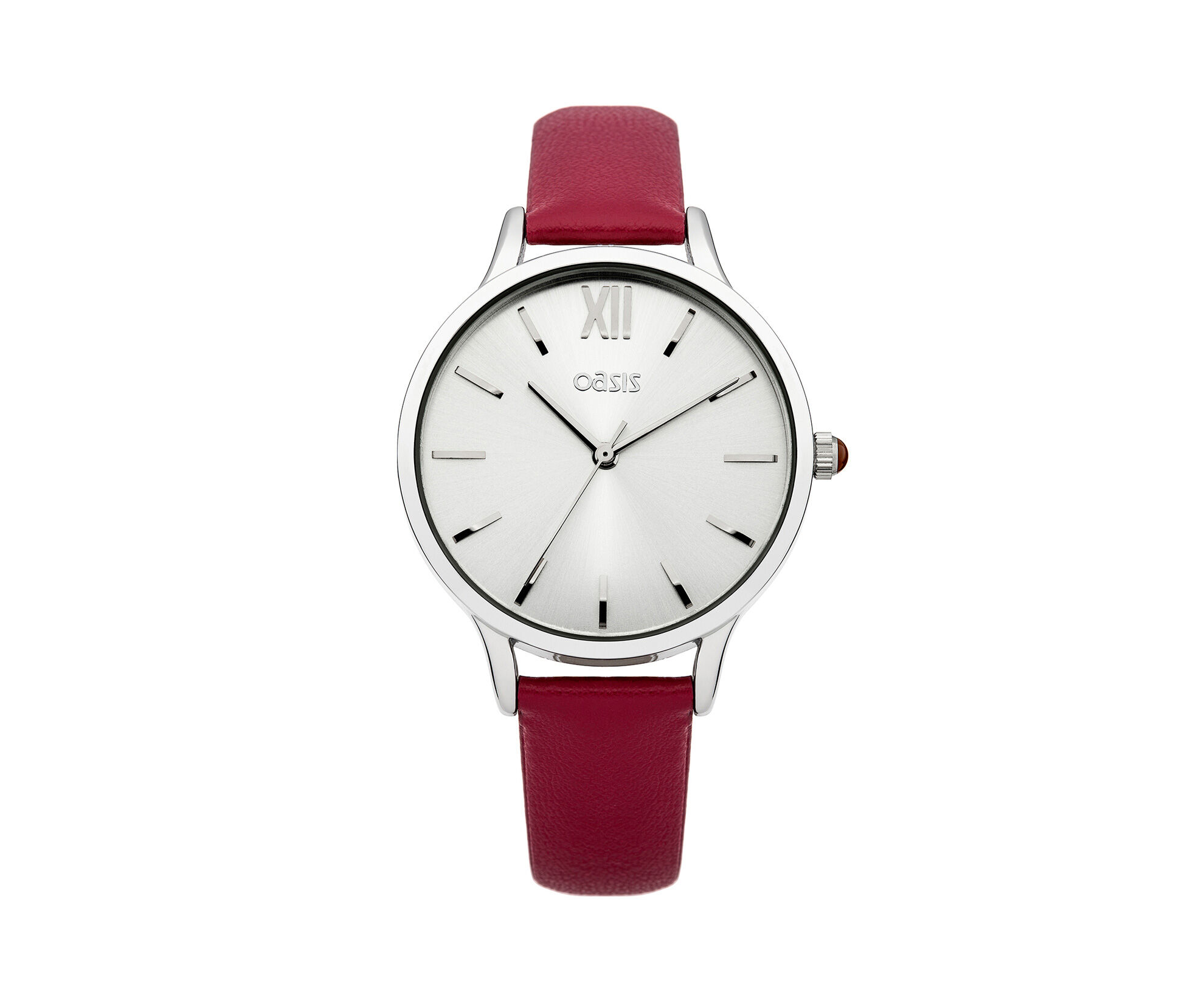 Oasis, Red Strap Watch Mid Red 0