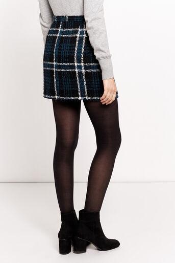 Oasis, Mini-jupe à carreaux Marley Divers tons de noir 3