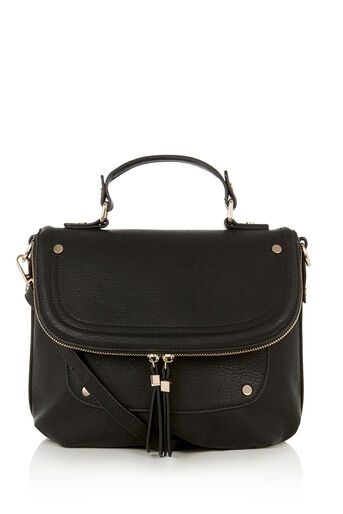 Oasis, SAATCHI CROSS-BODY BAG Black 0