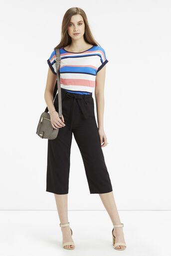 Oasis, Il De Ray Stripe T-Shirt Multi 2