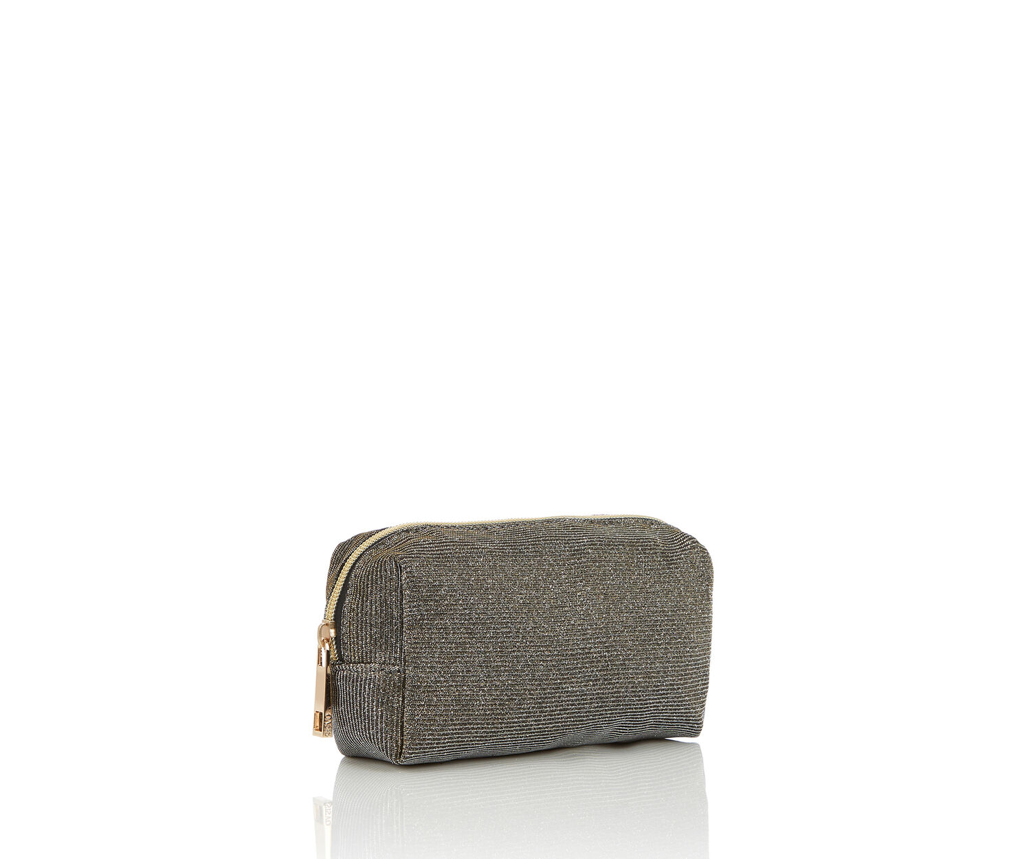 Oasis, GLITTER COSMETIC CASE Gold 1