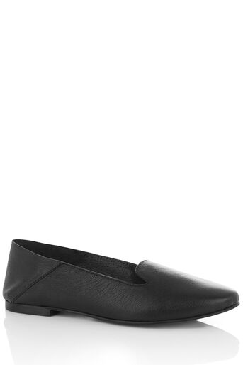 Oasis, LEATHER LILY SLIPPER Black 0