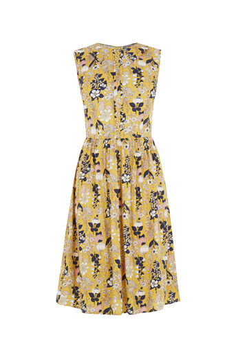 Oasis, Edie Floral Skater - Longer Le Multi Yellow 0