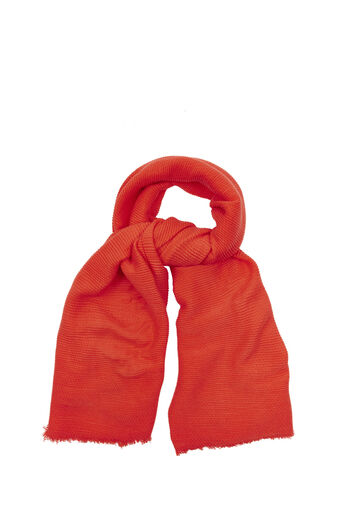 Oasis, PARIS CRINKLE SCARF Mid Orange 0