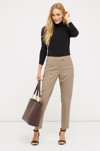 Oasis, Pantalon slim à carreaux Multicolore 2