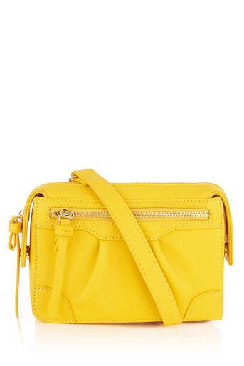 Oasis, MINI CROSS-BODY BAG Mid Yellow 0