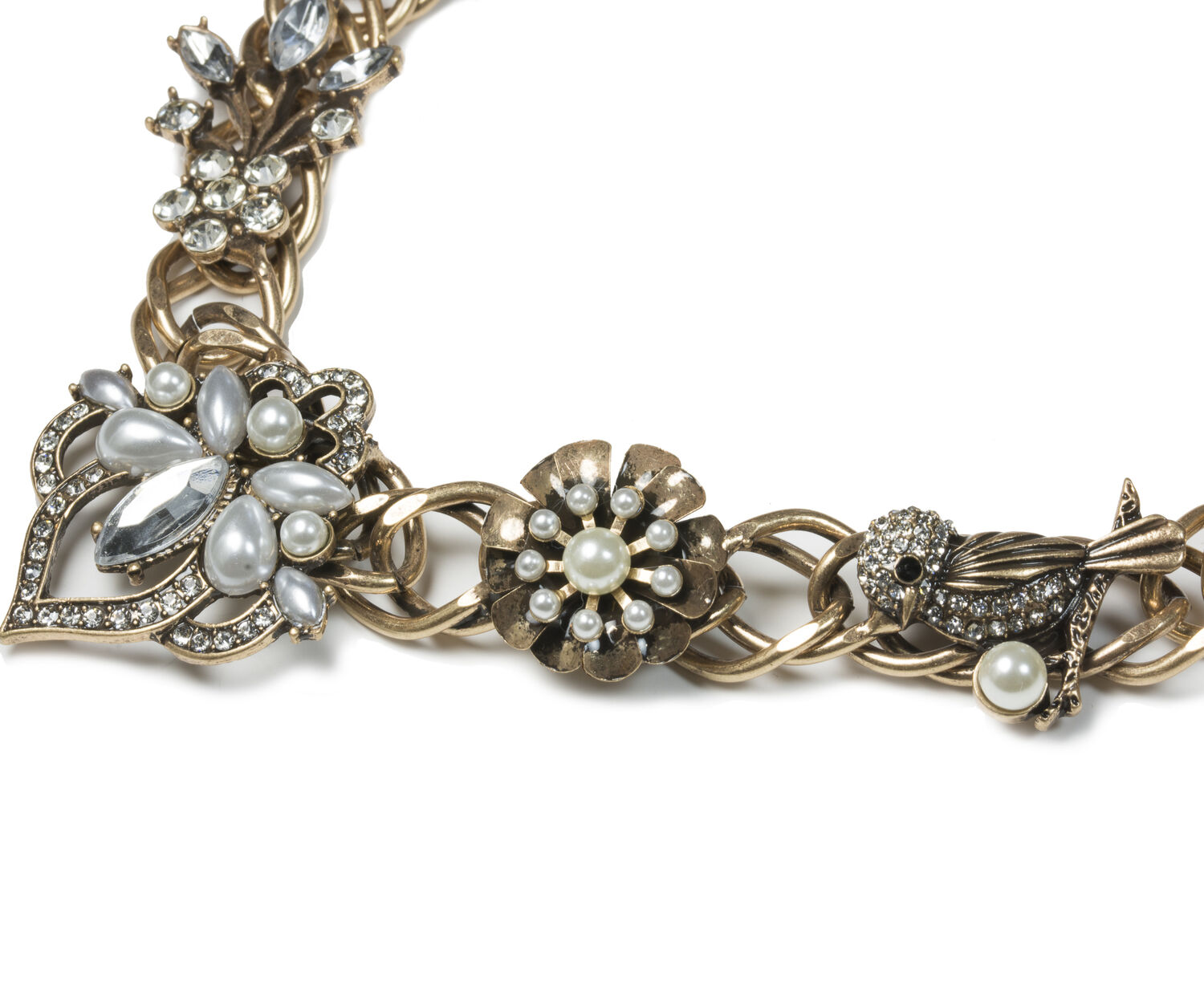 Oasis, WHIMSICAL FLOWER COLLAR Crystal 1