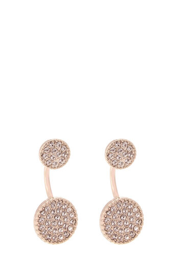 Oasis, SPARKLE DISC EARRING Gold 0