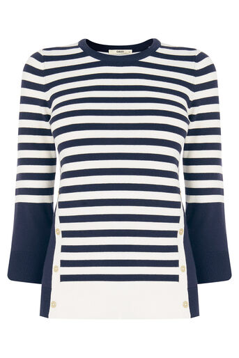 Oasis, Nautical Stripe Knit Multi 0