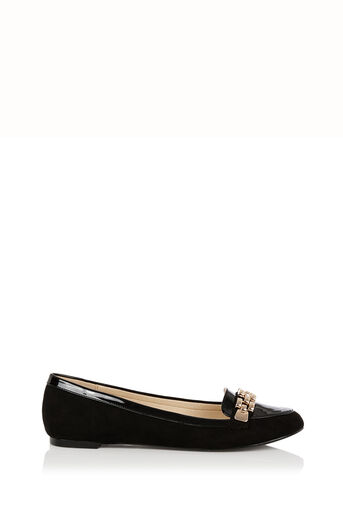 Oasis, Lauren Chain Loafer Black 2
