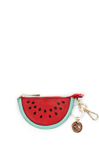 Oasis, LEATHER COIN PURSE WATERMELON Multi Red 0
