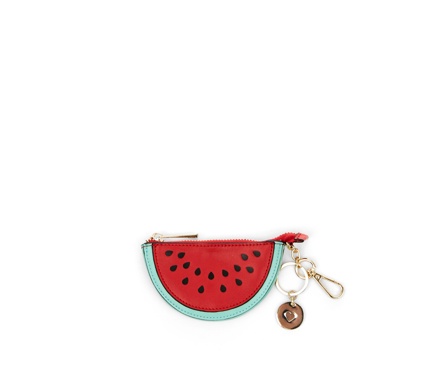 Oasis, LEATHER COIN PURSE WATERMELON Multi Red 1