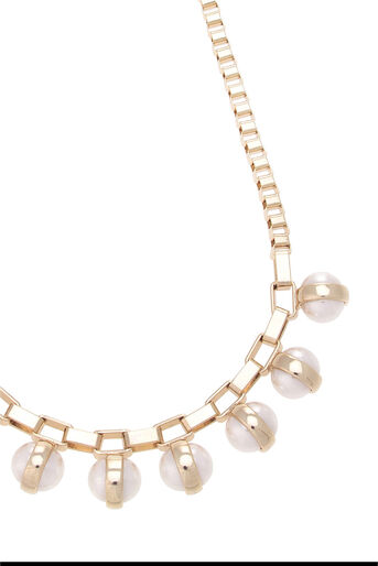 Oasis, Pearl Chunky Necklace Cream 2