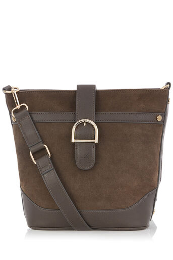 Oasis, ROSIE BUCKET BAG Mid Grey 0