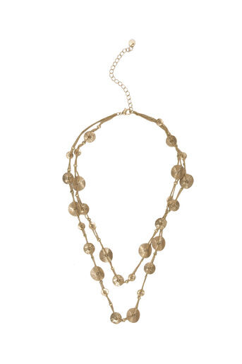 Oasis, LAYERED DISC NECKLACE Gold 0