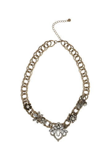 Oasis, WHIMSICAL FLOWER COLLAR Crystal 0