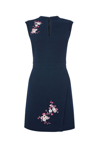 Oasis, BLOSSOM EMBROIDERED DRESS Multi 0