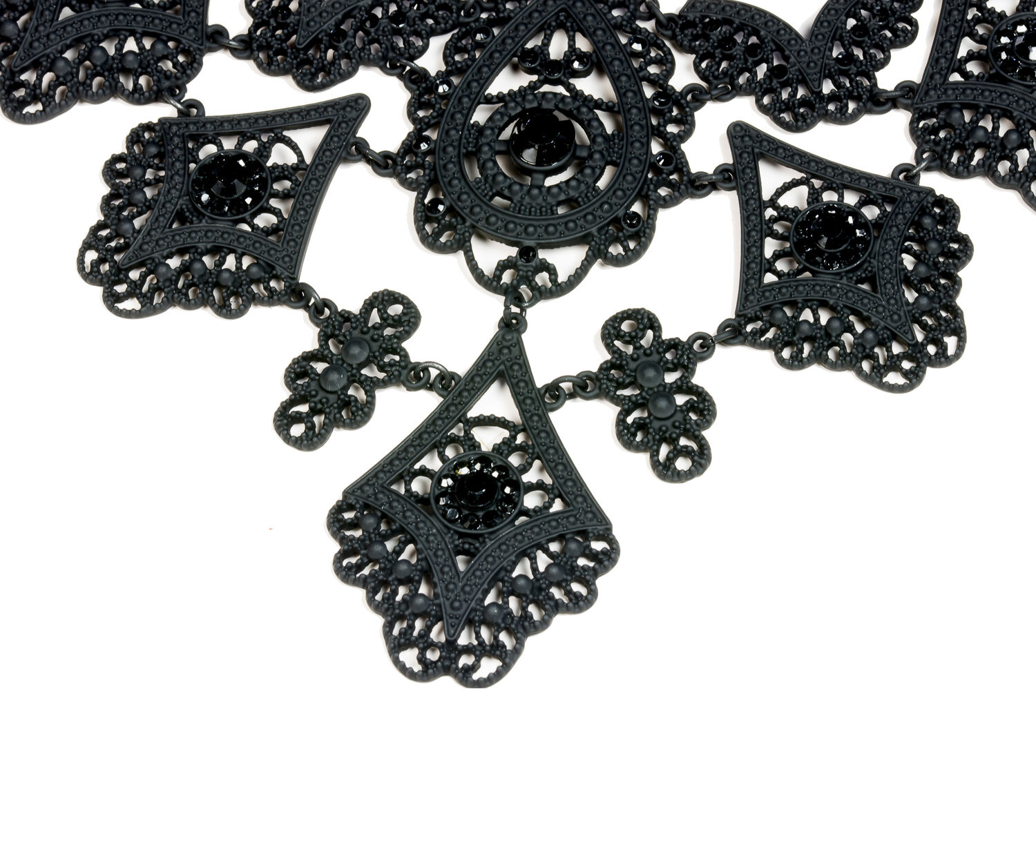 Oasis, BUTTERFLY COLLAR Black 1