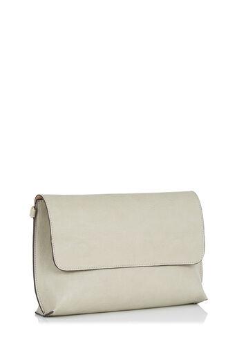 Oasis, REVERSIBLE CLUTCH BAG Multi Grey 3