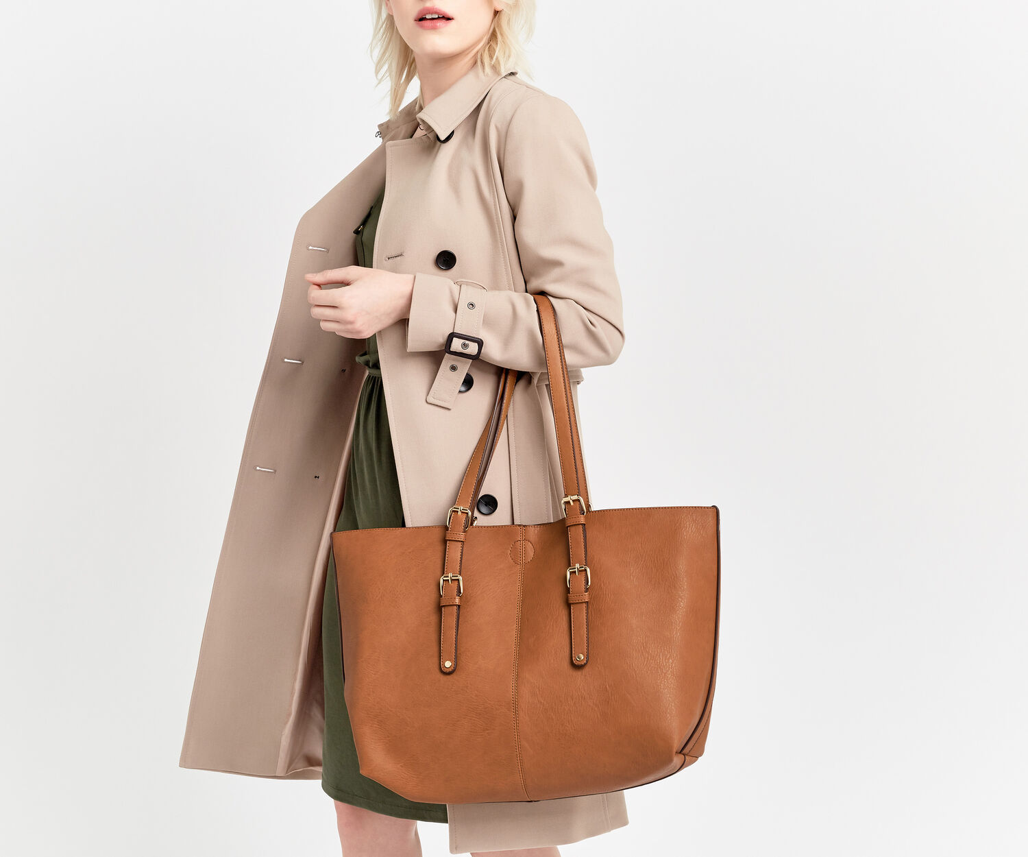 Oasis, MAGS TOTE Tan 1