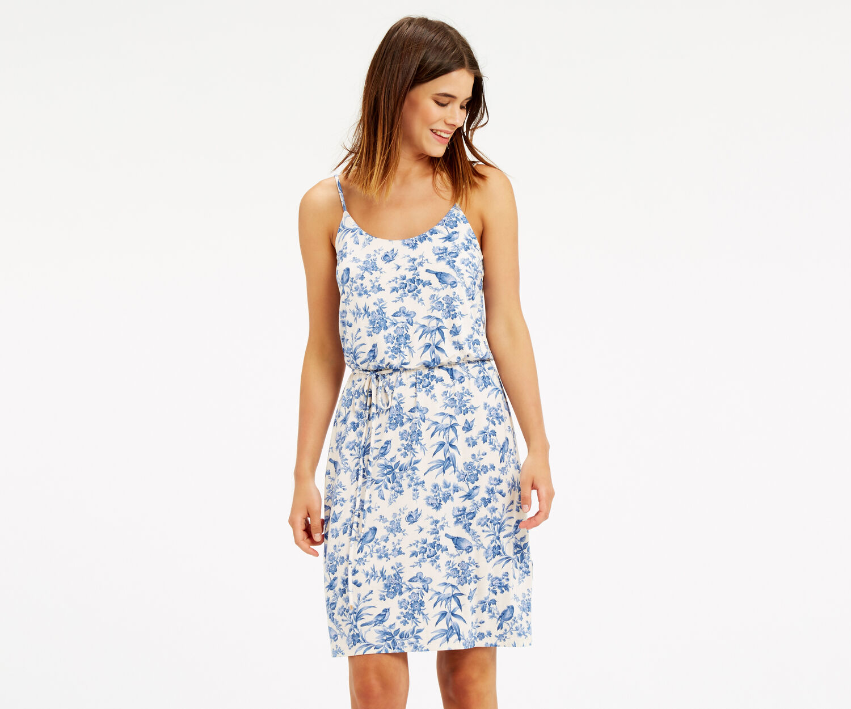 Oasis, Rosie Bird Cami Dress Off White 1