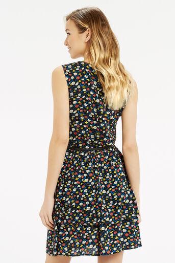 Oasis, Ditsy Ruffle Tiered Dress Multi 3