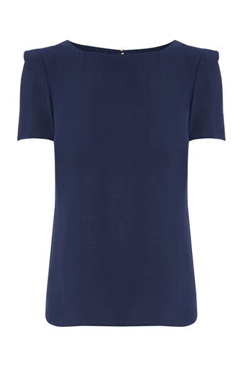 Oasis, Formal T-Shirt Navy 0