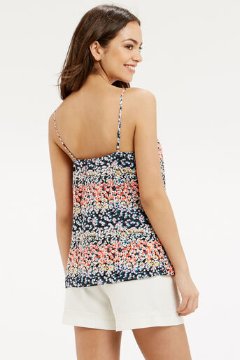 Oasis, DITSY FRILL CAMI Multi 3