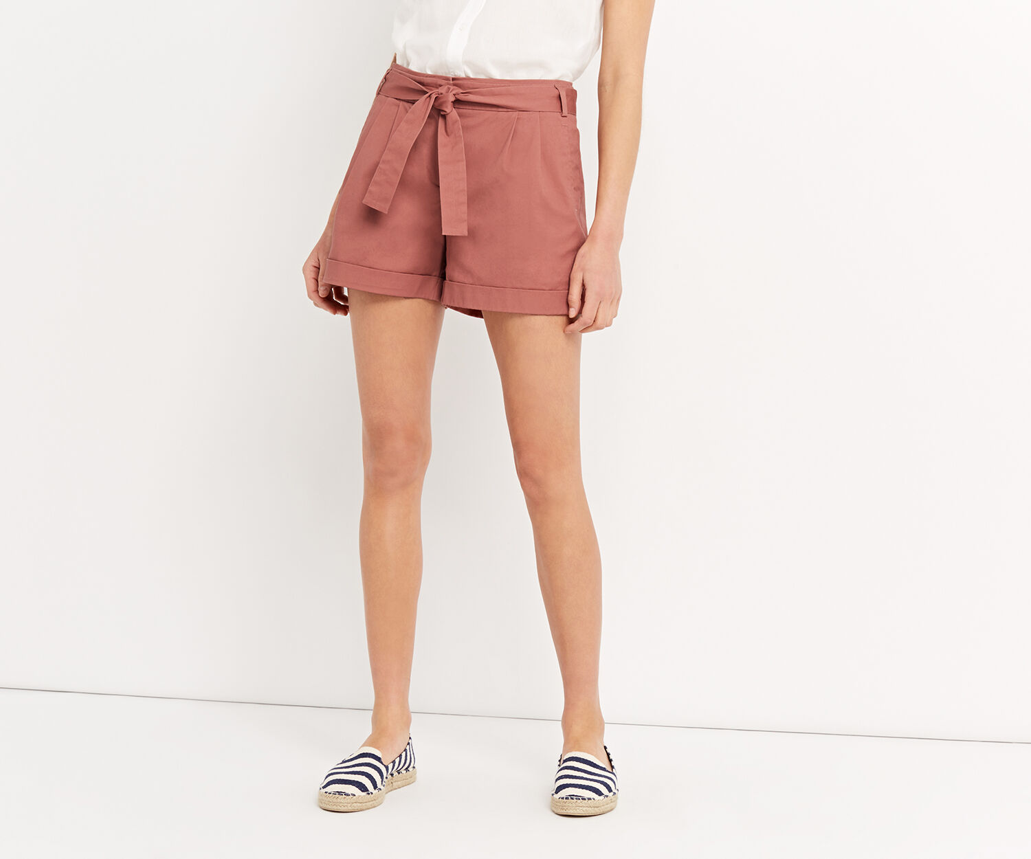 Oasis, CASUAL SHORT Mid Pink 1