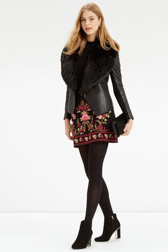 Oasis, Cute Frill Knit Black 2