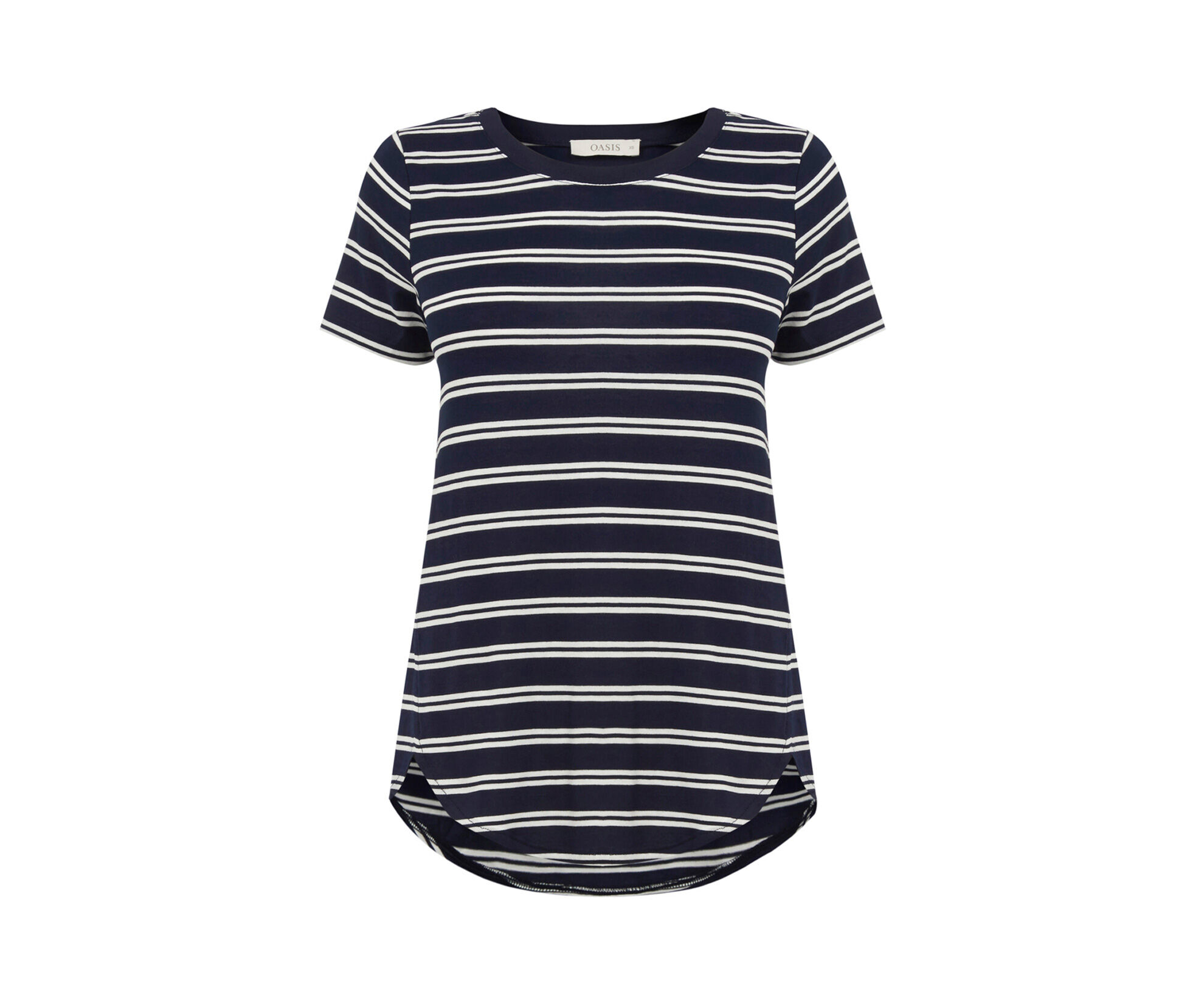 Artikel klicken und genauer betrachten! - Our classic tee gets a SS16 makeover thanks to a nautical stripe and a preppy navy shade. We'll be wearing ours on denim for an on-trend alternative to our trusty basic t-shirt. Our classic tee gets a SS16 makeover thanks to a nautical stripe and a preppy navy shade. We'll be wearing ours on denim for an on-trend alternative to our trusty basic t-shirt. | im Online Shop kaufen
