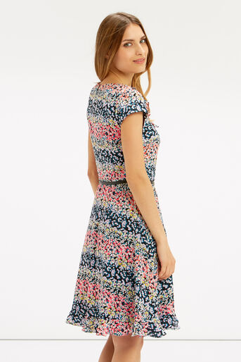 Oasis, DITSY DRESS - LONGER LENGTH Multi 3