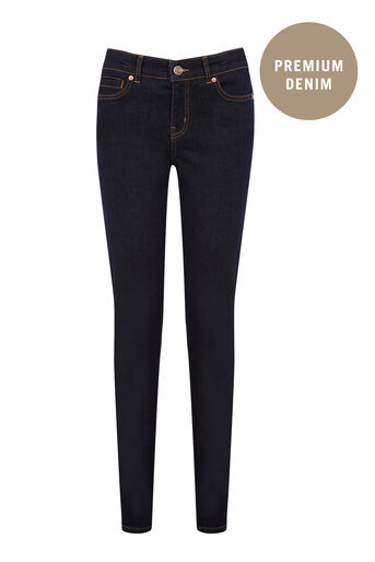 Oasis, Sculpting Slim Leg Jeans Dark Wash 0