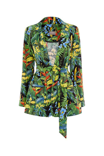 Oasis, TROPICAL CUBA SOFT BLAZER Multi 0