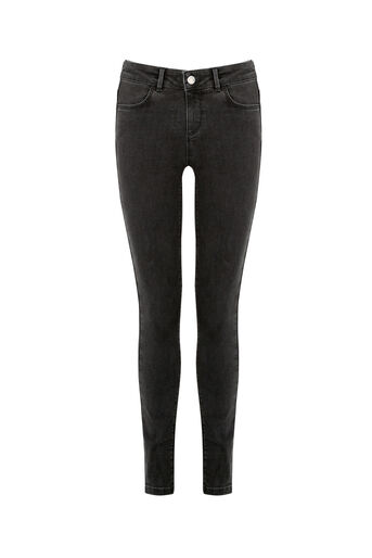 Oasis, Jade Skinny Jeans Dark Grey 0