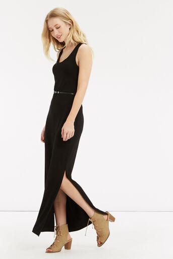 Oasis, Vest Maxi Dress Black 1