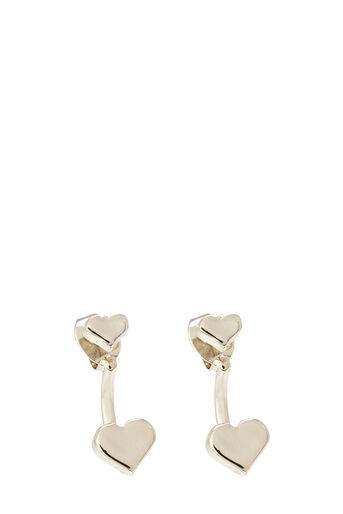 Oasis, HEART UNDER-EAR EARRING Gold 0