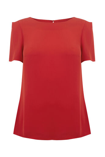 Oasis, Formal T-Shirt Rich Red 0