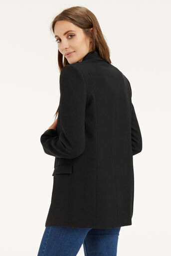 Oasis, The Boyfriend Jacket Black 3
