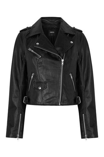 Oasis, The Leather Biker Black 0