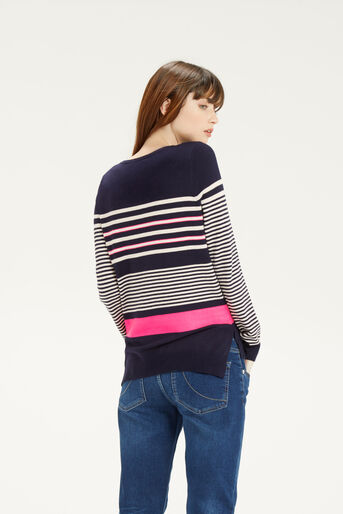 Oasis, Verigated Stripe Jumper Multi 3