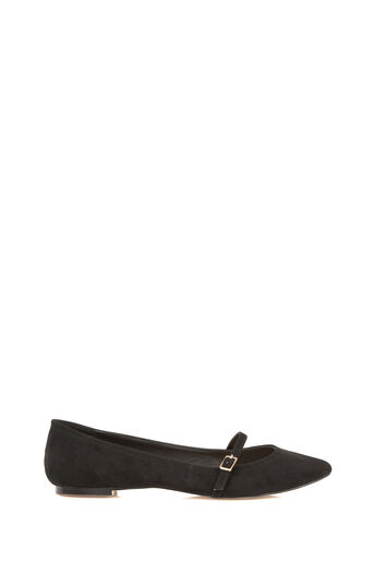 Oasis, POINTED BUCKLE FLATS Black 0