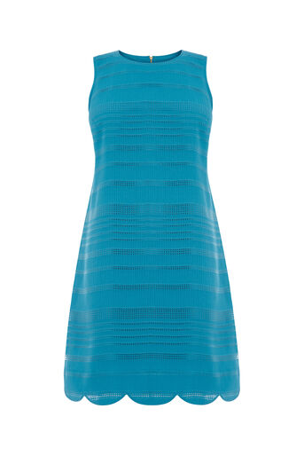 Oasis, GRID STRIPE SHIFT Turquoise 0