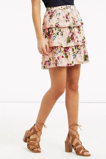 Oasis, Chintz Rosanna Rara Skirt Multi Natural 1