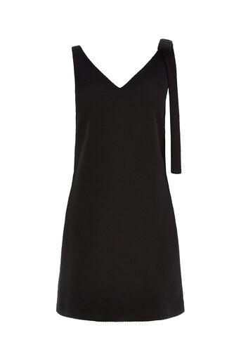 Oasis, Bow Shoulder Dress Black 0